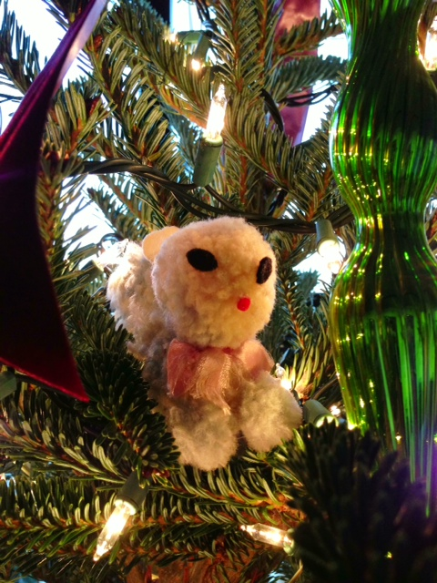 christmas ornament, christmas ornaments, christmas decoration, squirrel ornament, literary suspense novel, literary suspense fiction, literary southern gothic suspense novel, literary southern gothic suspense fiction