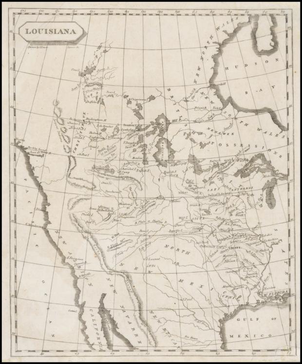 soulard map of louisiana
